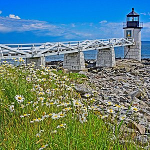 Marshall Point Lighthouse as the storm passes. Quintessential Maine.