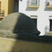 Cúpula del templete desde el balcón de la plaza (detalle)