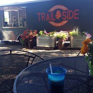 Very pleasant, well kept trail. Loved Trail Side- such wonderful lemonade!