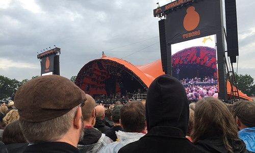 New Order på Arena scene samt Neil Young på Orange