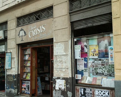 Librería Crisis en Valparaíso