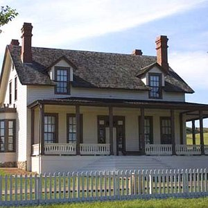 Custer House at Fort Abraham Lincoln