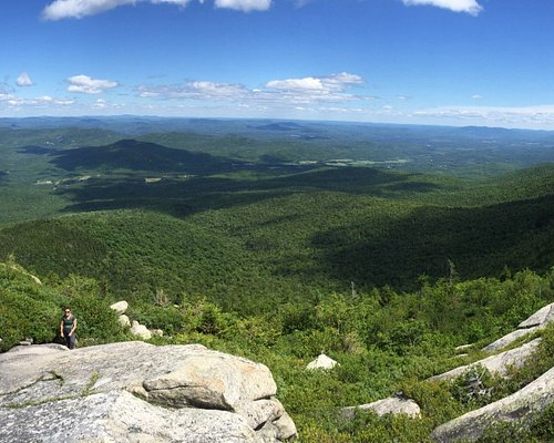 4 foot step ledges above tree line on the Baldface Circle Trail.  Difficult and advanced.  Go Sl