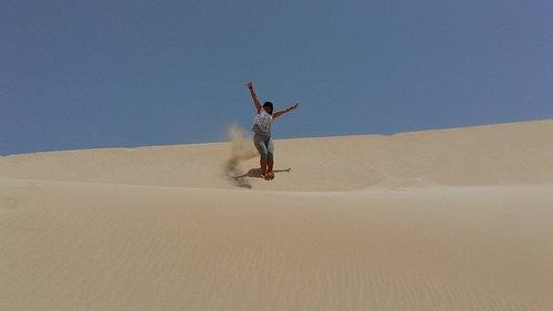 Dunes of the Desert of Viana