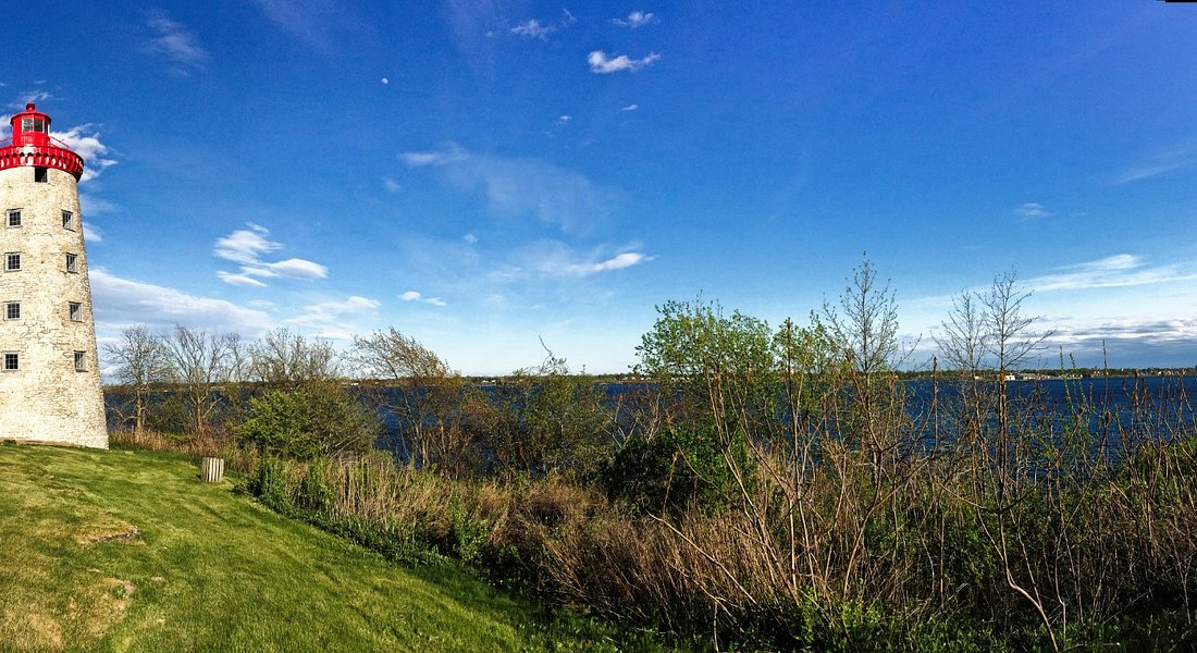 St. Lawrence Panorama at the Prescott Lighthouse