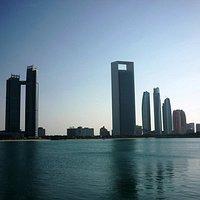 El horizonte de Abu Dhabi