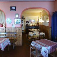 interno del ristorante La Tosca
