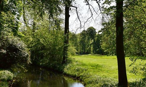 Molenbeek in het Koning Boudewijnpark fase I, Jette