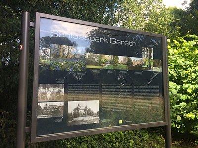 Placa do Parque do Castelo