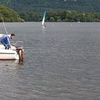 Sailing on Derwentwater
