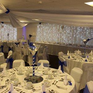 Wedding Set Up in Function Room