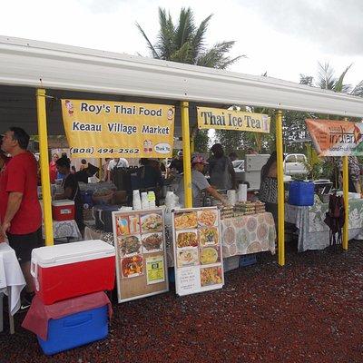 many food vendors