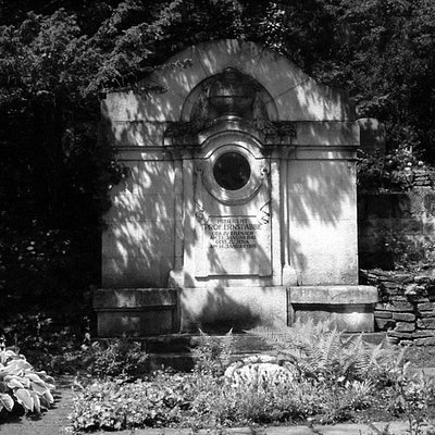 Das Grab von Ernst Abbe