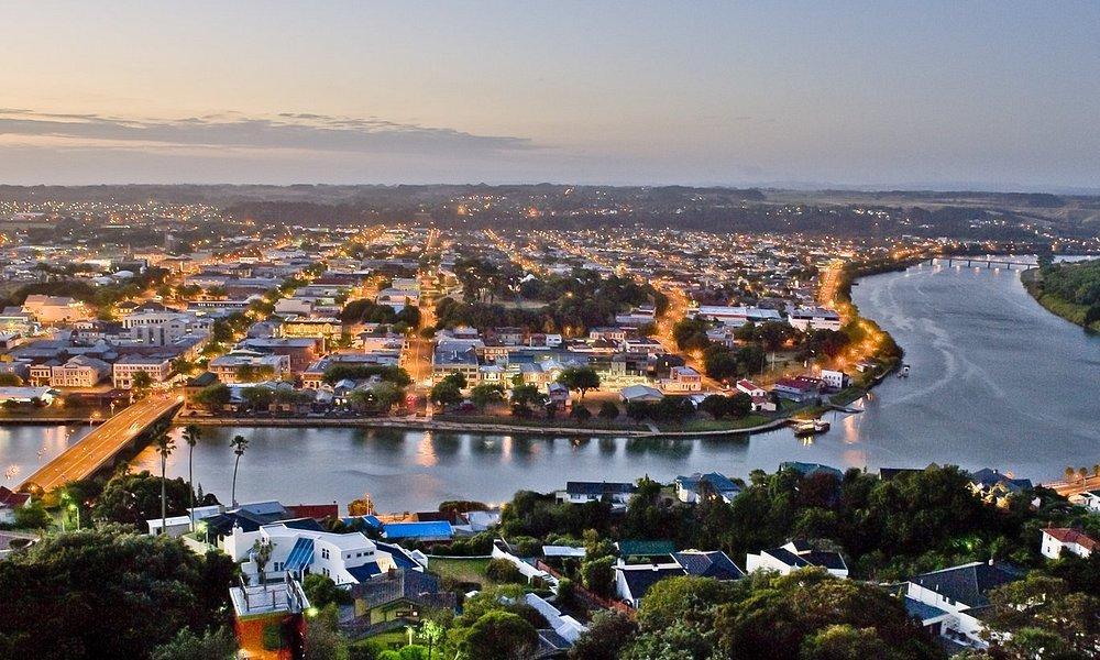 Night Scene From Whanganui, New Zealand