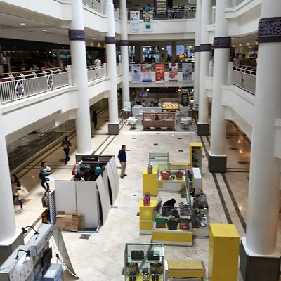 View inside Galleria