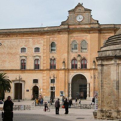 Piazza Vittorio Veneto | Matera, Basilicata, Italy