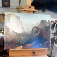 Artist's Studio, Hill's Stuido and Wawona Information Station, Yosemite National Park, CA