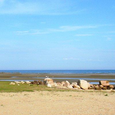 キワ・ラ・ビーチ 南寄りのビーチ