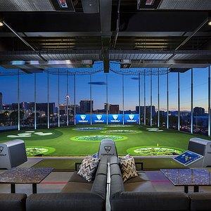 Hitting Bays with Incredible Vegas Views