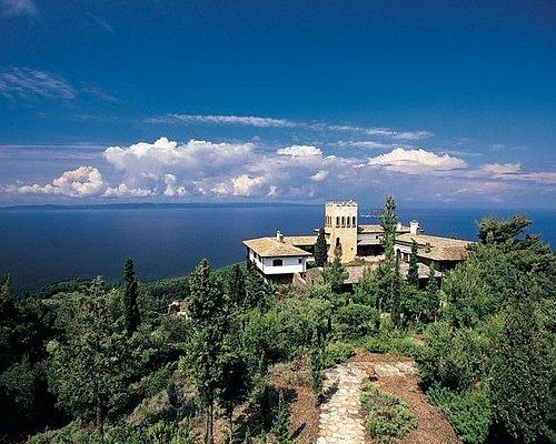 Panoramic view of Villa Galini