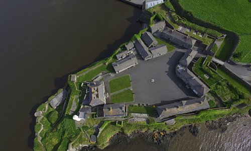 Duncannon Fort Aerial View