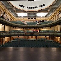 Theatre viewed from centre stage
