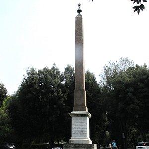 Obelisk on the Pincio