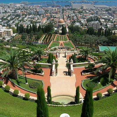 View of the Bahai Gardens