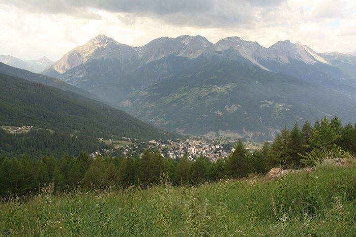 Vista panoramica su Sauze d'Oulx
