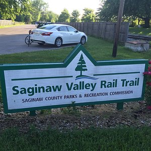 Eastern Terminus of Saginaw Valley Rail Trail