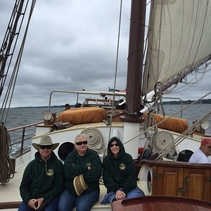 Tall Ship Cruise on the York River--on the Alliance