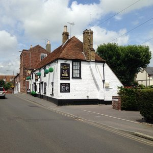 Glorious elevation of Deal's oldest pub