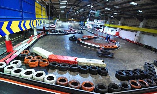Main Kart track