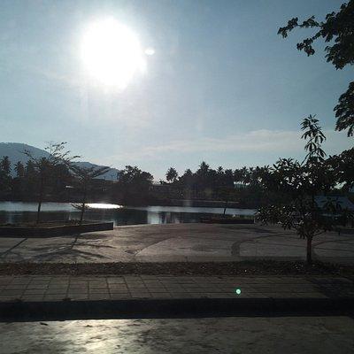 На озере Chaweng Lake