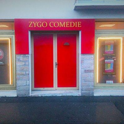 L entrée du ZYGO Comedie
