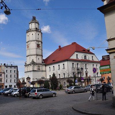 Paczkowski ratusz.