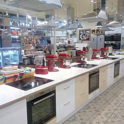 Оборудованные места для приготовления блюд.