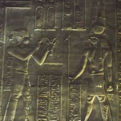 Temple of Hathor Crypt at Dendera Temple Complex