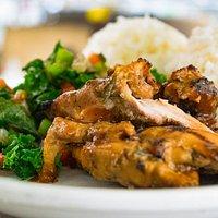 BBQ Chicken Plate