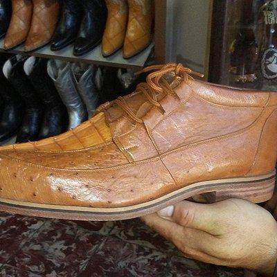 Custom exotic shoes
