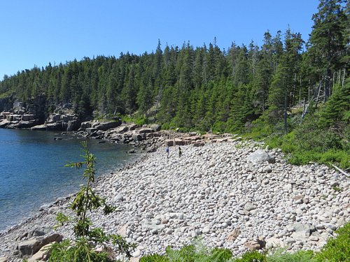 Some areas filled with boulders and rocks (off the trail)