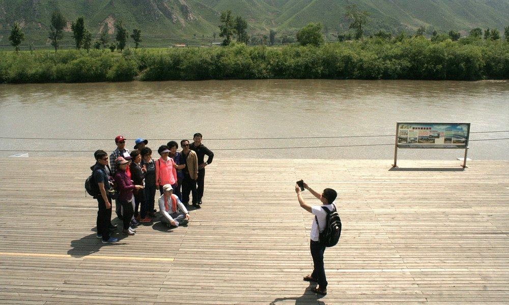 Tumen, bordertown with North Korea. Yanbian Korean Autonomous Prefecture.