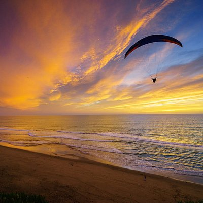 Paragliding Sunset!
