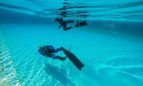 Freediving Fuerteventura Pool Training