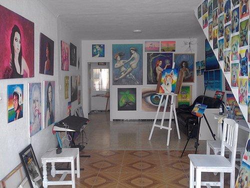 interior el taller del arte