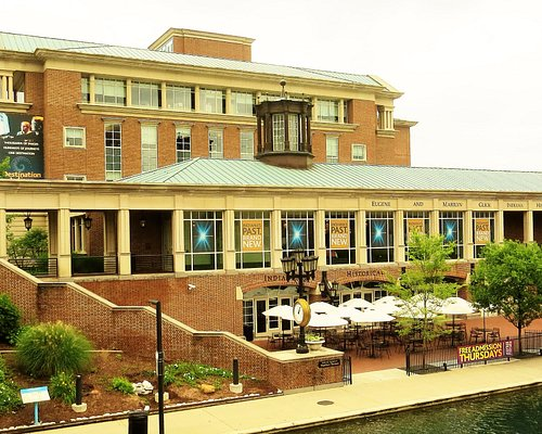 Indiana History Center, canal view