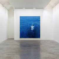 """Brian Maguire's exhibition """"Over Our Heads the Hollow Seas Closed Up"""""""