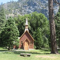 Yosemite Valley Chapel, Yosemite National Park, CA