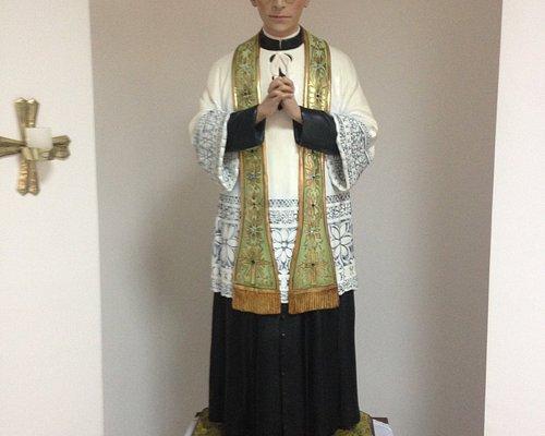 Imagem do Pe. Rodolfo que se encontra no Museu.