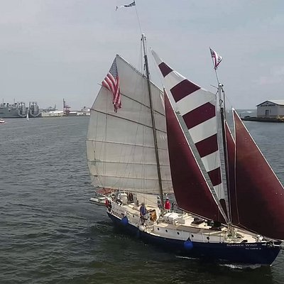 Under full sail in Baltimore